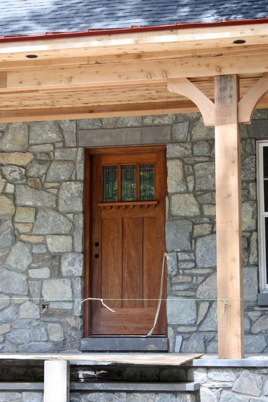 Arts and crafts shaker doors nicksbuilding com Craftsman style wood interior doors