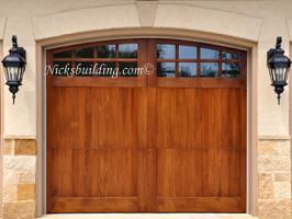 Wood overhead garage doors nicksbuilding com for R value of wood garage door