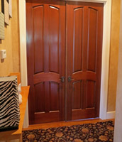 Four panel interior doors for sale in hawaii for Mahogany interior doors