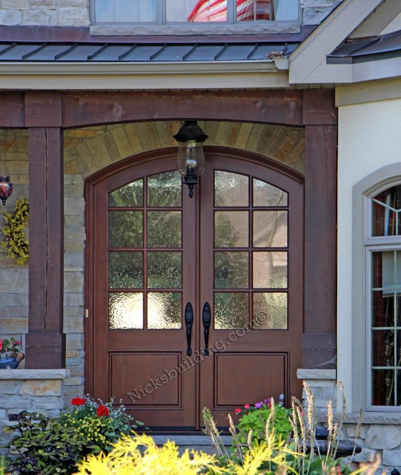 build wood entry door