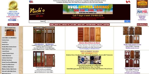 how to build wood exterior doors