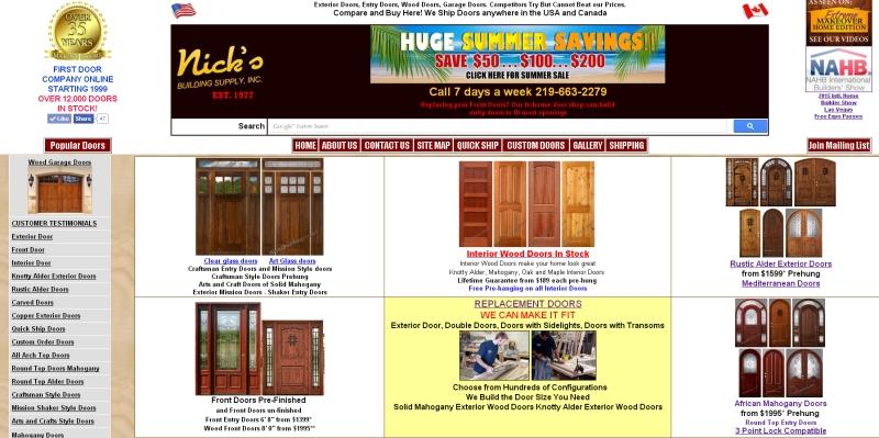 how to build wood doors