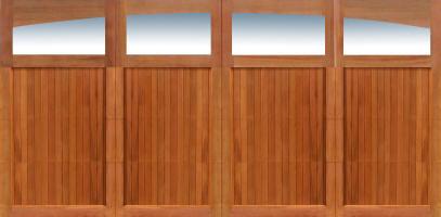 garage doors wood overhead door hawaii rustic milwaukee wisconsin indianapolis chicago nicksbuilding cedar wooden grade clear lites paint insulated