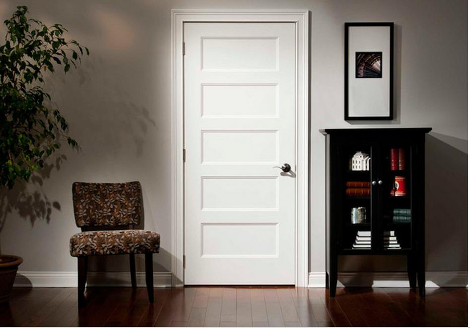 Five panel interior doors 5 panel wood doors shaker for Interior panel doors