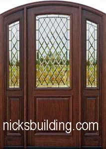 Arched Top Exterior Doors Round Top Front Doors Radius Top Entry Doors For Sale In Michigan
