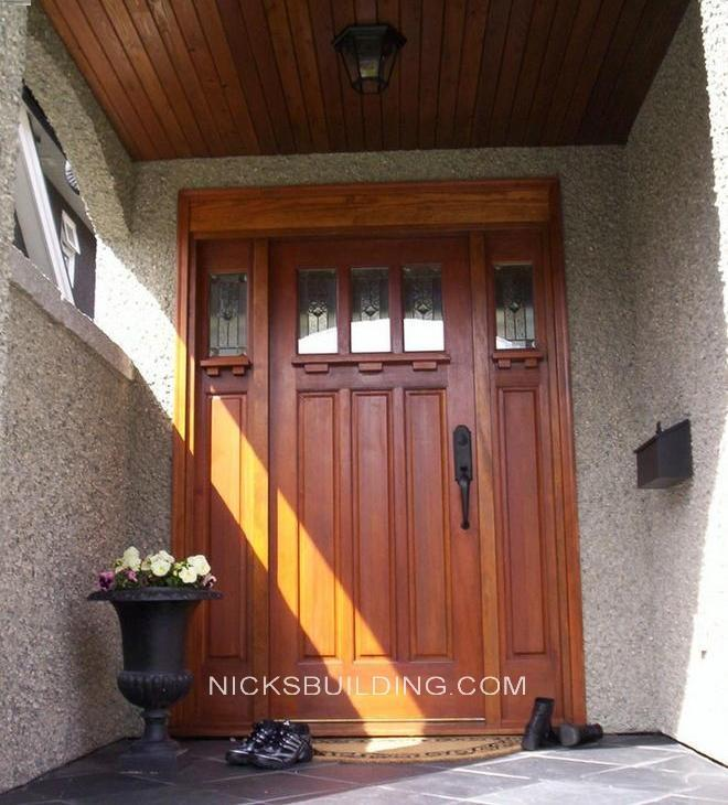 wood mahogany front doors exterior doors entrance doors for sale