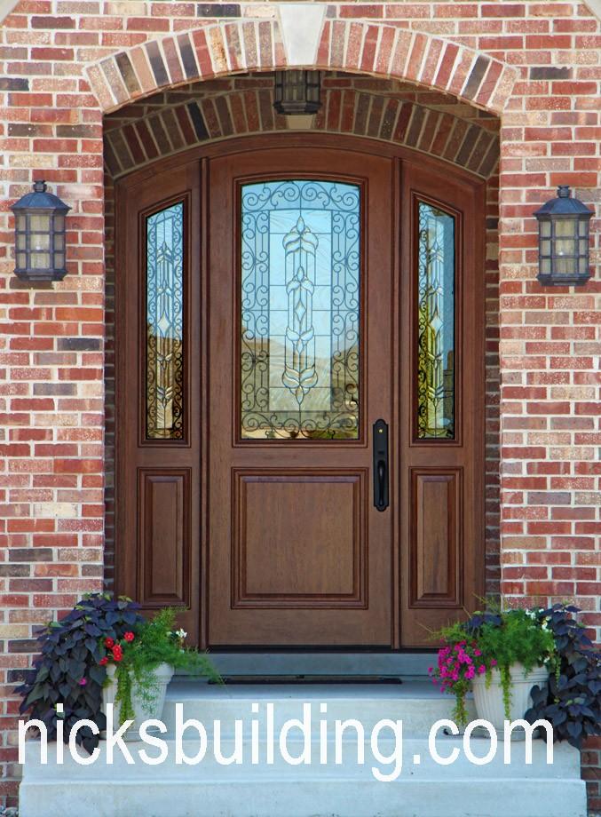 Arched top exterior doors round top front doors radius top for Doors for sale