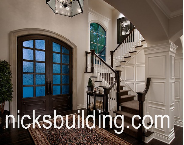 Arched top exterior doors round top front doors radius top for Solid wood exterior doors for sale