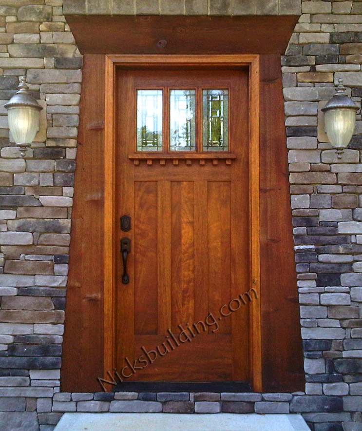 Arts And Crafts Doors Craftsman Style Doors Mission Style Doors Front Exterior Doors For