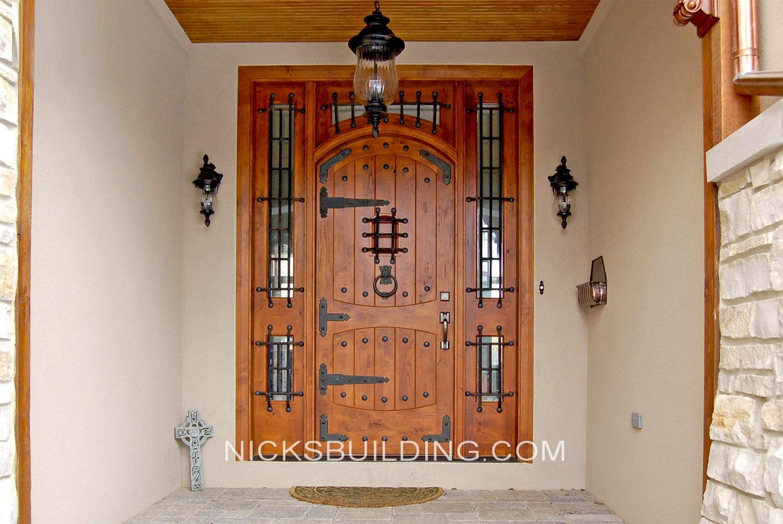 Rustic Mediterranean Front Doors Gothic Doors Tuscanny Wood Doors for sale in Colorado & Rustic Mediterranean Front Doors Gothic Doors Tuscanny Wood Doors ...