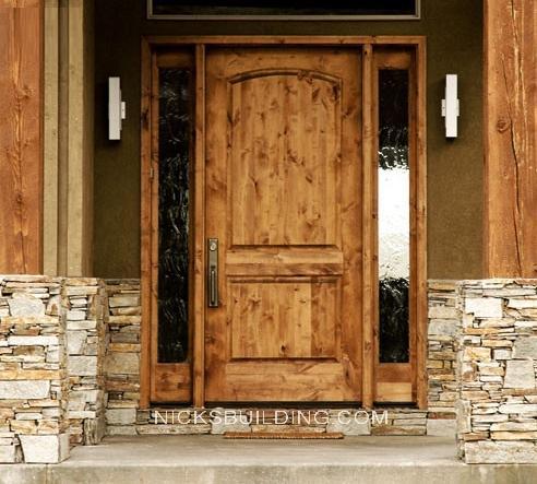 Wood mahogany front doors exterior doors entrance doors for Best wood for front door