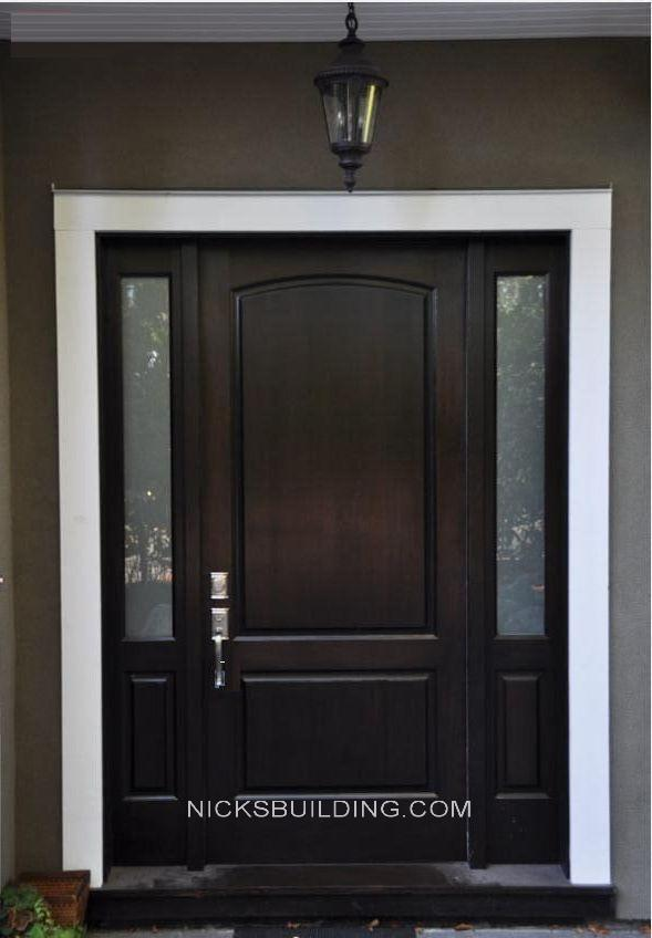 Exterior Wooden Panel Doors Doors Outstanding Exterior Solid Wood