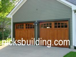 garage doors wood michigan overhead carolina carriage south nicksbuilding north