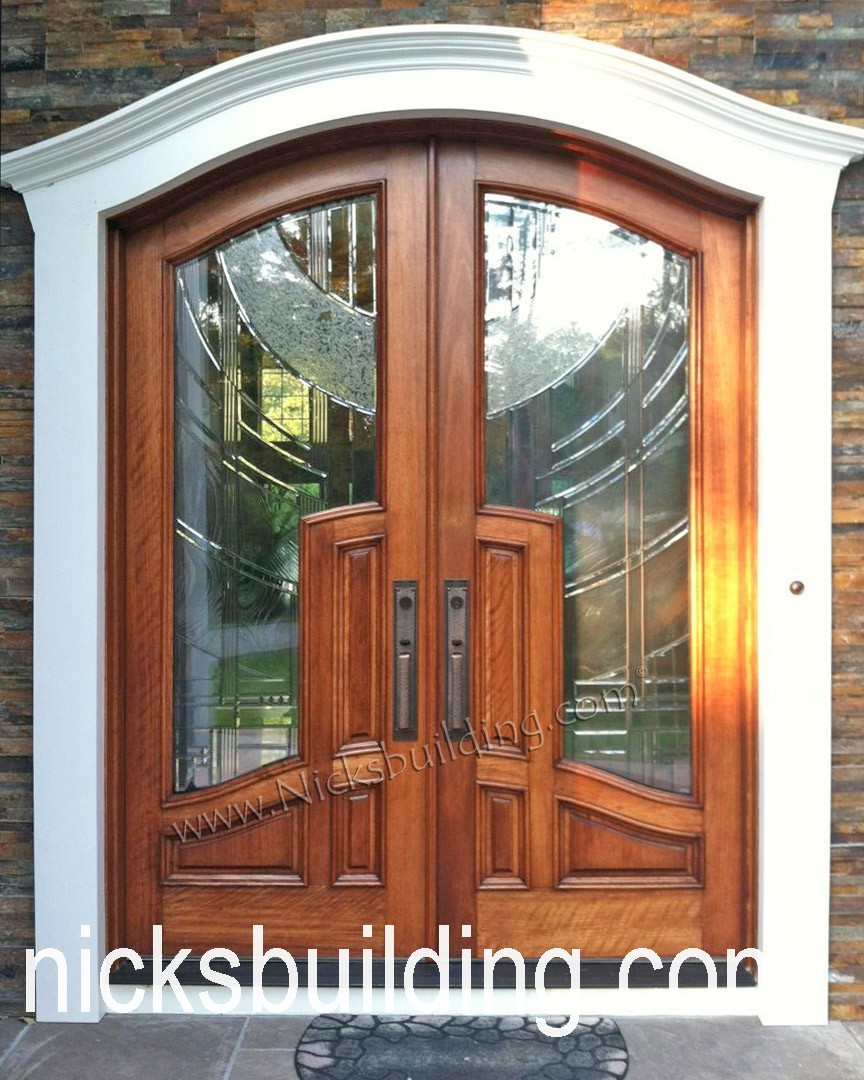 Arch Top Exterior Doors Radius Arched Doors Round Top