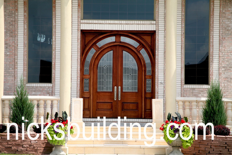 Arch Top Exterior Doors Radius Arched Doors Round Top Entry Doors Front Doors Ohio