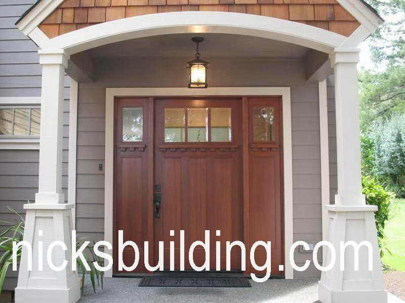 ARTS AND CRAFTS DOORS. CRAFTSMAN SHAKER DOORS EXTERIOR DOORS FOR SALE IN  OHIO MISSION STYLE FRONT DOORS Lloyd WRIGHT ENTRY