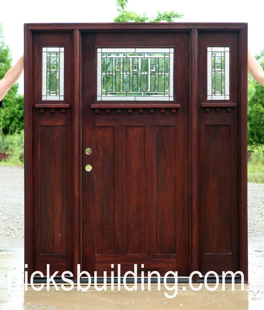 Craftsman doors mission doors exterior doors front doors for Exterior entry doors for sale