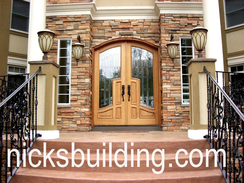 1080 #976534 TOP EXTERIOR DOORS – RADIUS ARCHED DOORS – ROUND TOP ENTRY DOORS  image Round Top Entry Doors 40731440