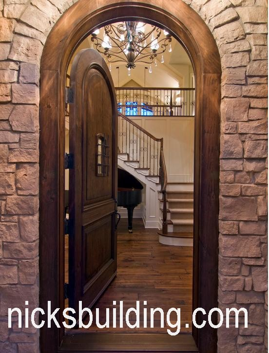 Arch Top Exterior Doors Radius Arched Doors Round Top Entry