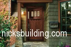 Craftsman doors mission doors shaker doors for sale in for Arts and crafts front doors