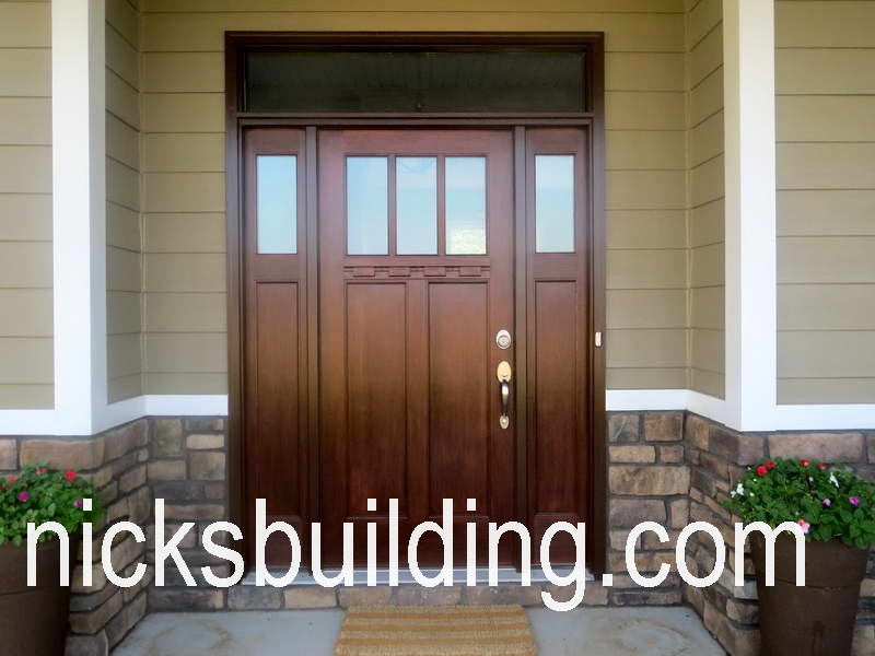 EXTERIOR CRAFTSMAN DOORS ARTS AND CRAFTS FRONT DOOR MISSION STYLE DOORS  FRANK LLOYD WRIGHT WOOD DOORS