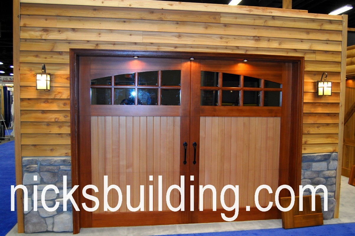 OVERHEAD GARAGE DOORS CAROLINA | NICKSBUILDING.COM