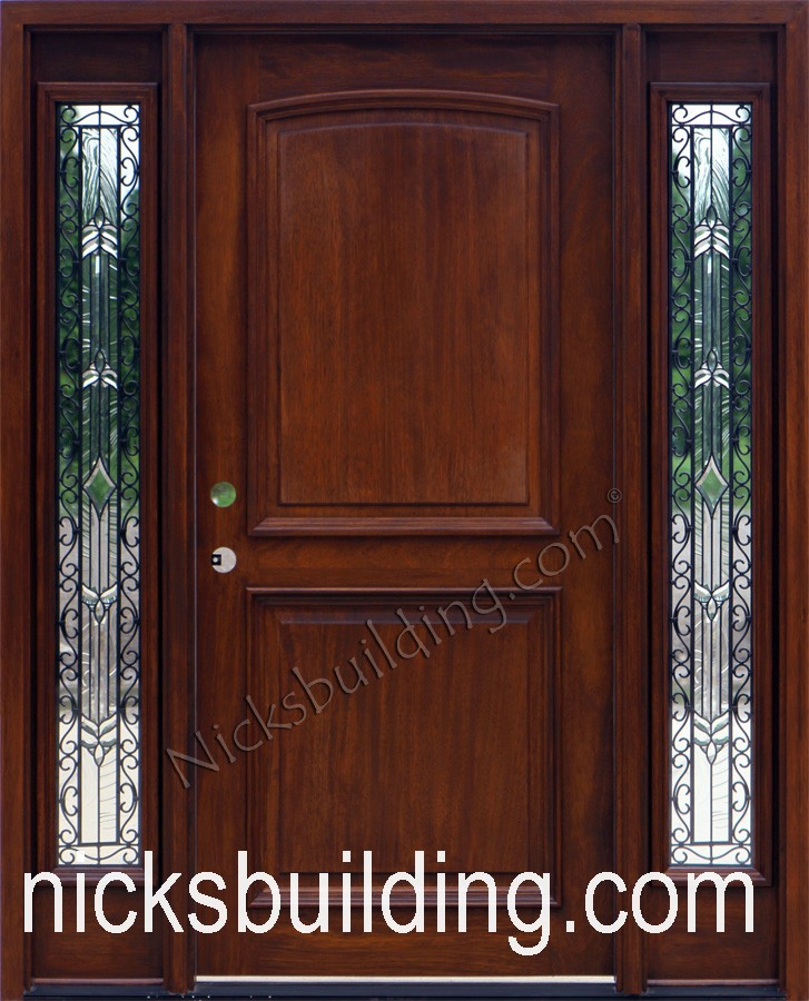 Mahogany wood exterior doors for sale in south carolina for Outside doors for sale