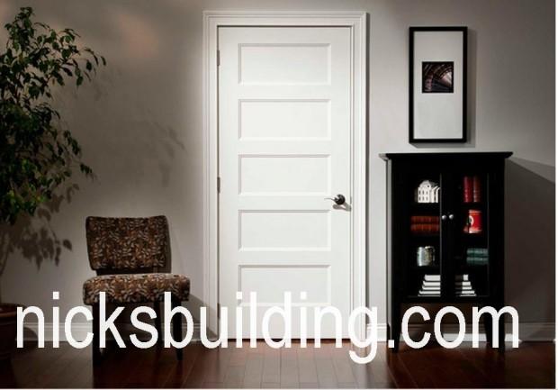 Interior Shaker Doors wood interior mahogany doors for sale in chicago | nicksbuilding