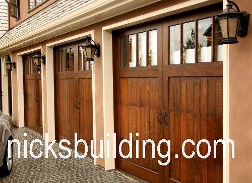 wood overhead garage doors wood garage doors for sale in ohio
