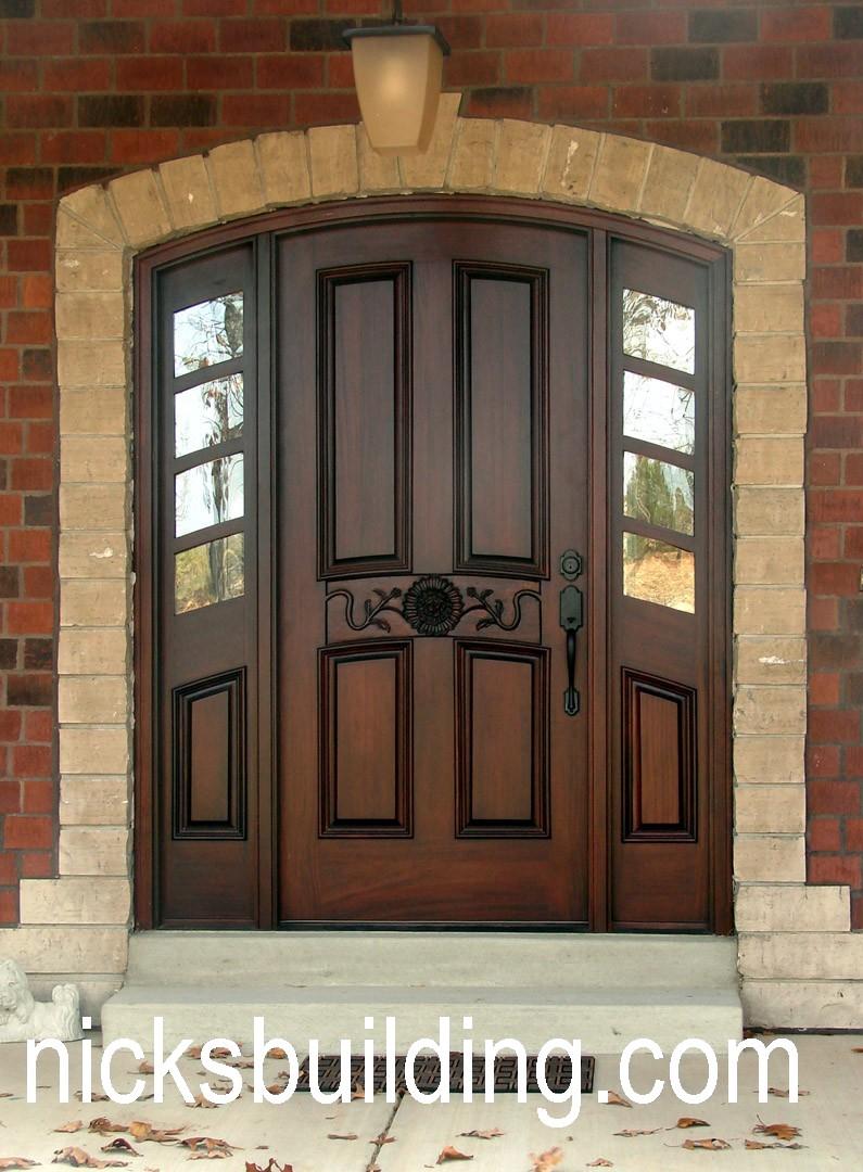 Mahogany Exterior Doors For Sale In Missouri | NICKSBUILDING.COM