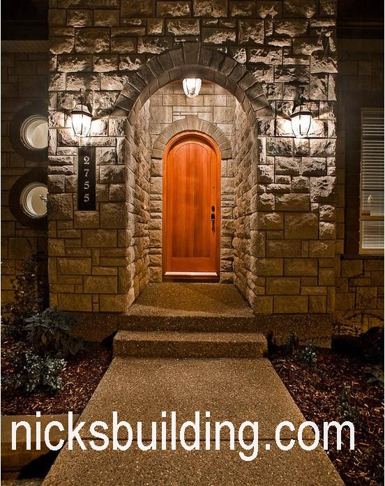 Rustic Tuscany Mediterranean Wood Front Doors For Sale In Texas