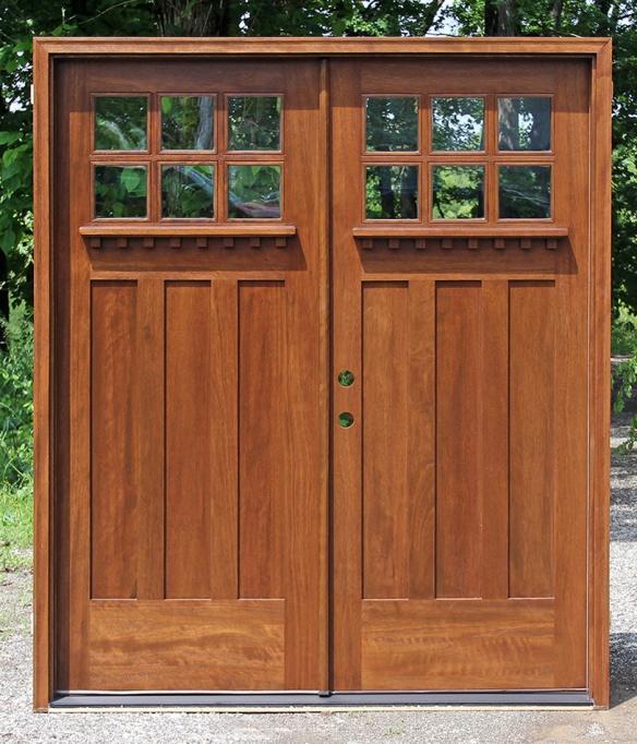 Craftsman Style Solid Wood Entry Doors For Sale In Ontario Nicksbuilding Com