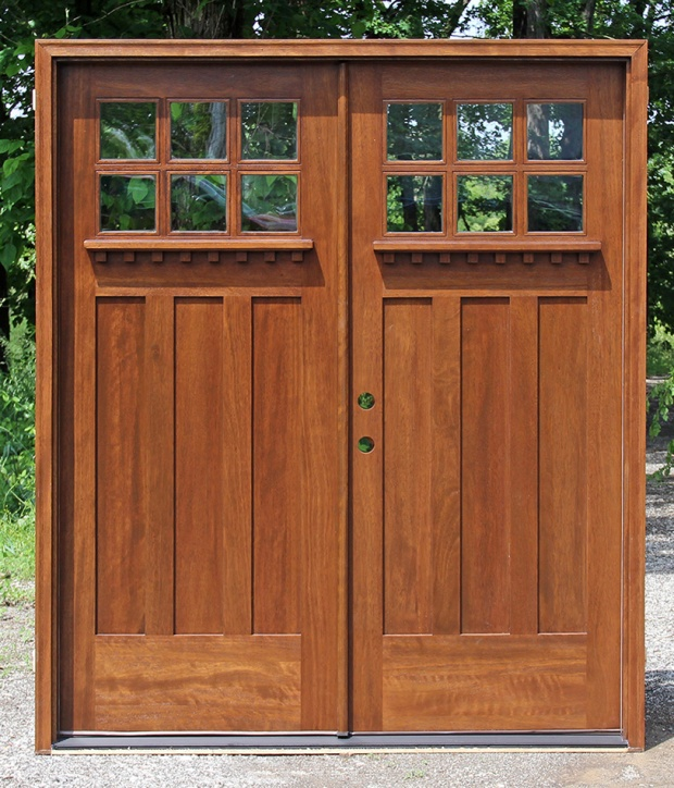 Craftsman Style Solid Wood Entry Doors For Sale In Ontario