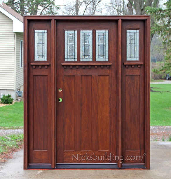 Craftsman Style Exterior Doors For Sale In North Carolina Nicksbuilding Com